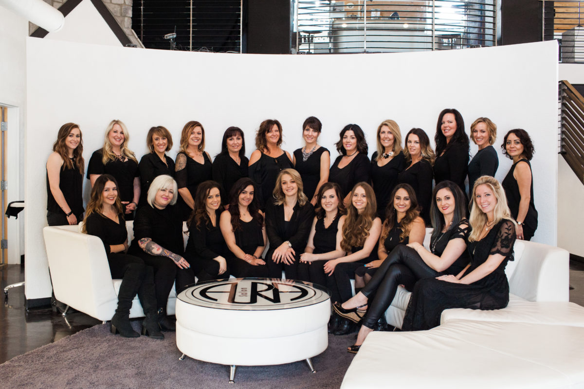 The AURA Salon Team